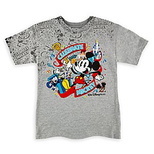 Mickey Mouse ''Celebrate'' T-Shirt for Boys - Walt Disney World