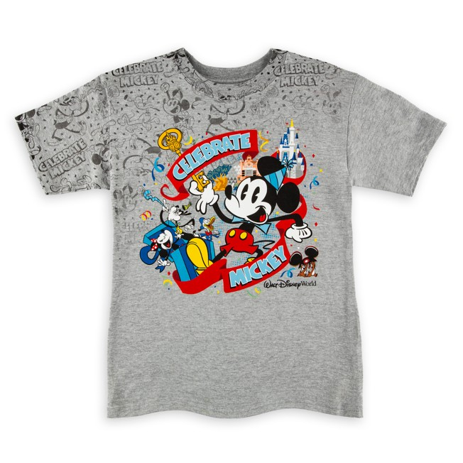 Mickey Mouse ''Celebrate'' T-Shirt for Boys – Walt Disney World