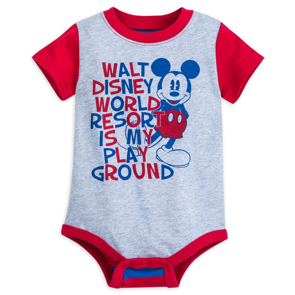 Mickey Mouse Walt Disney World Bodysuit for Baby