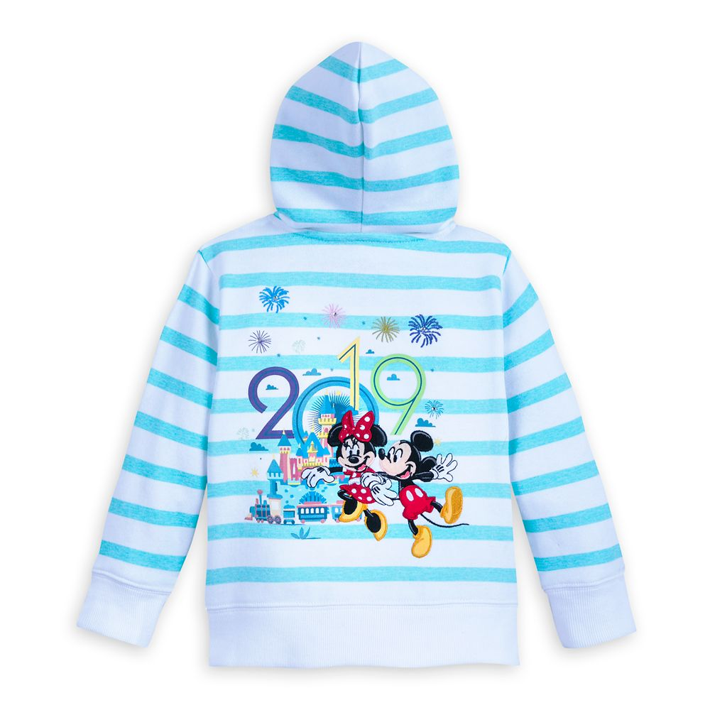 Mickey Mouse and Friends Zip-Up Hoodie for Kids – Disneyland 2019