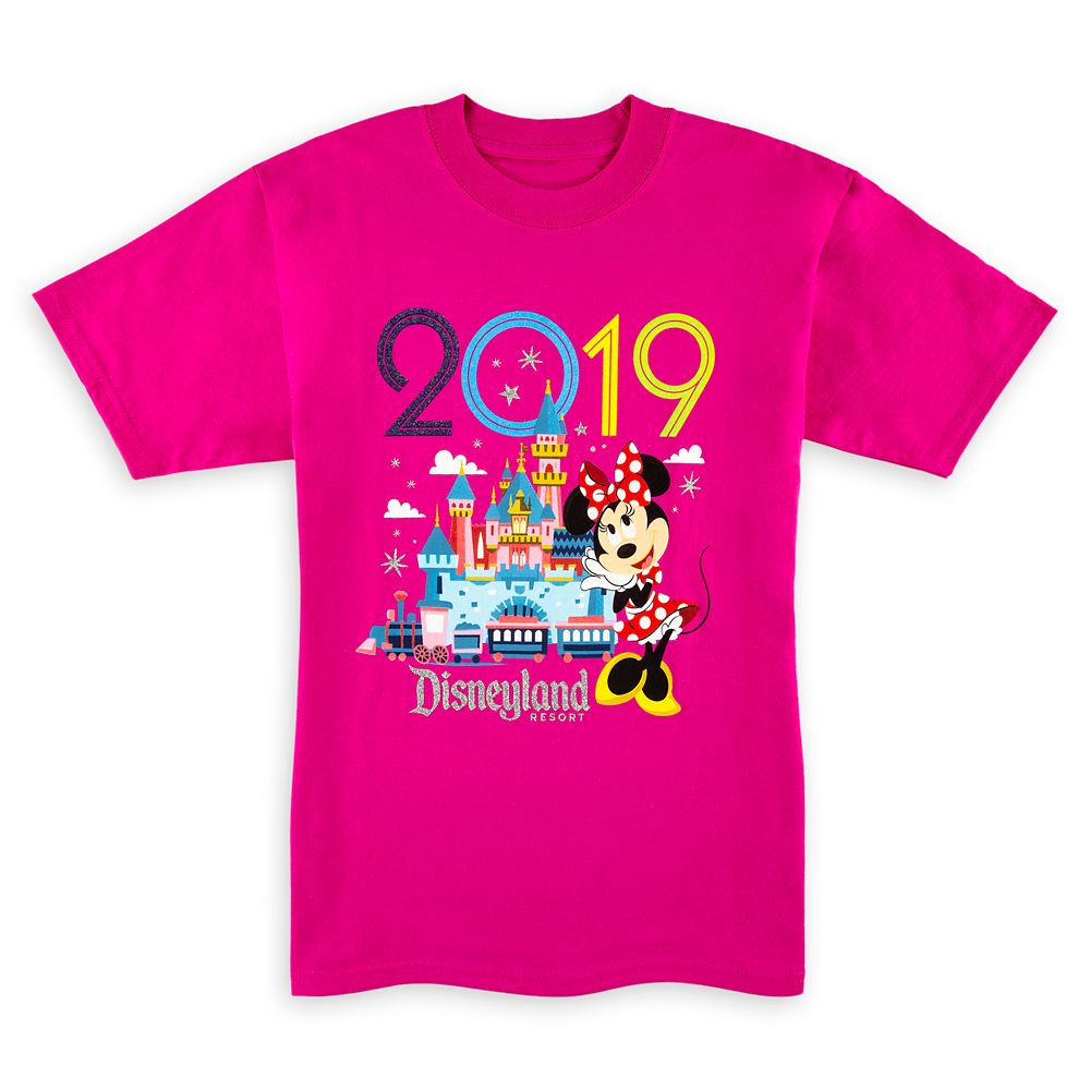 Minnie Mouse T-Shirt for Kids  Disneyland 2019