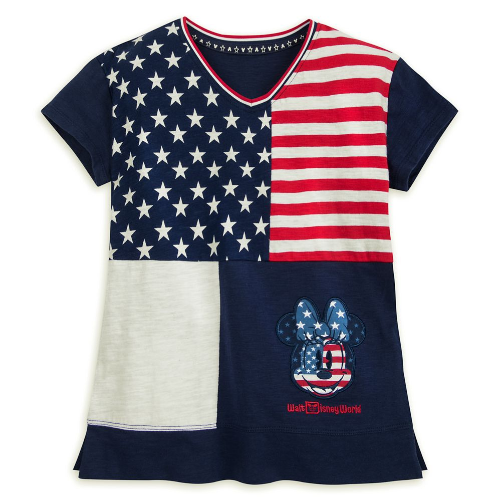 Minnie Mouse Americana Fashion T-Shirt for Girls – Walt Disney World