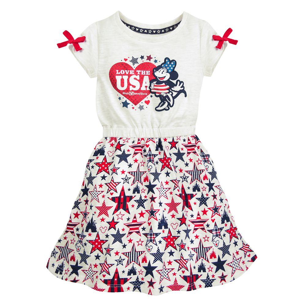Minnie Mouse Americana Dress for Girls  Walt Disney World
