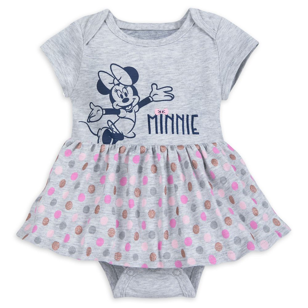 Minnie Mouse Bodysuit with Skirt for Baby –  Walt Disney World