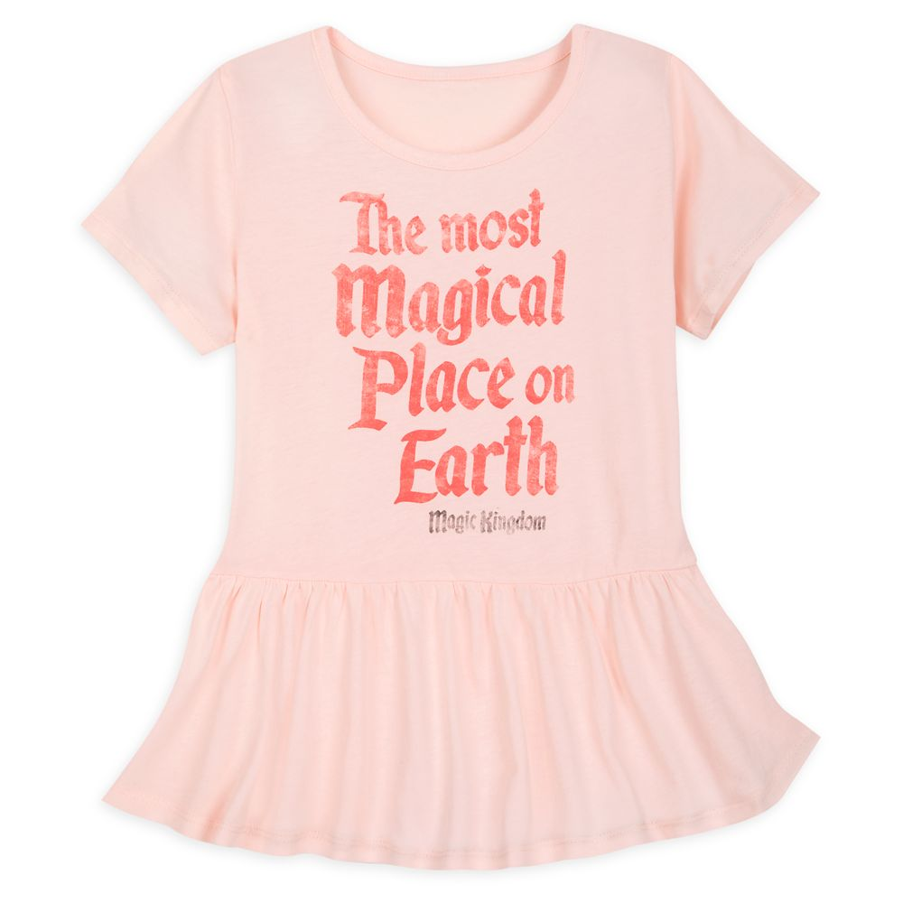 Magic Kingdom Peplum T-Shirt for Girls by Junk Food