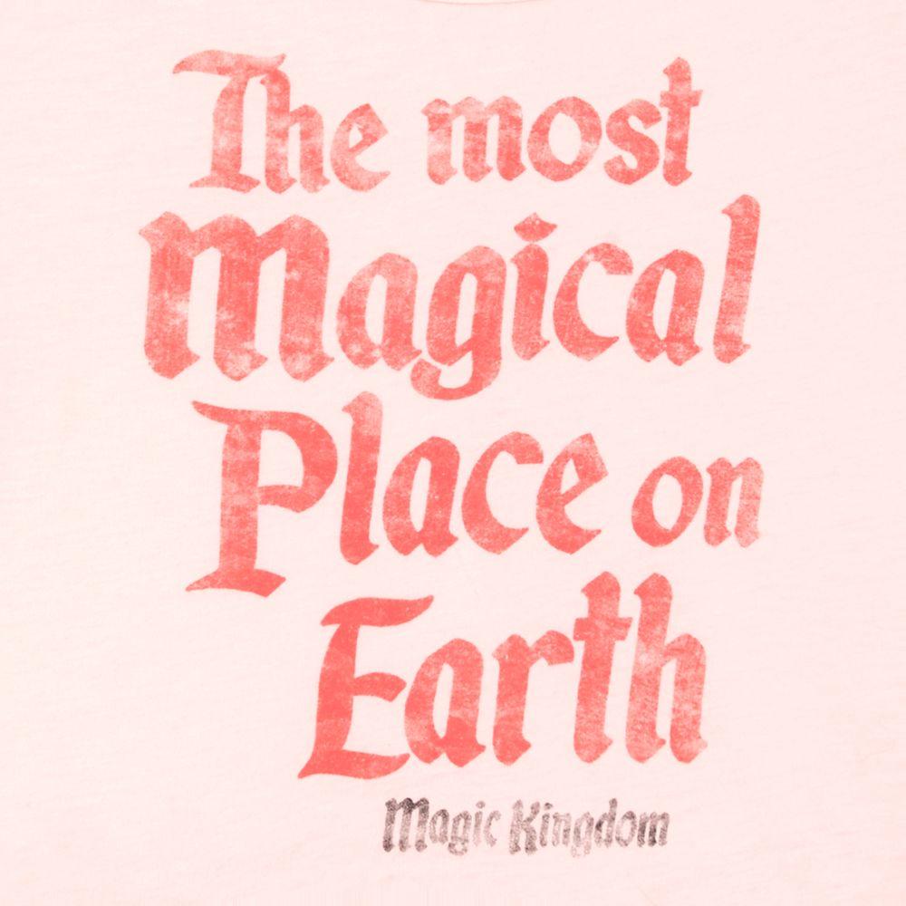 Magic Kingdom Peplum T-Shirt for Girls by Junk Food