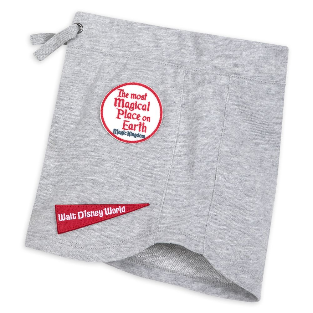 Magic Kingdom Shorts for Girls by Junk Food