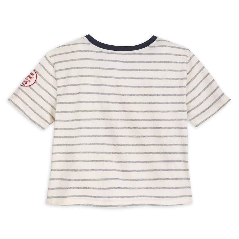 Fantasyland Castle Striped T-shirt for Girls by Junk Food – Walt Disney World