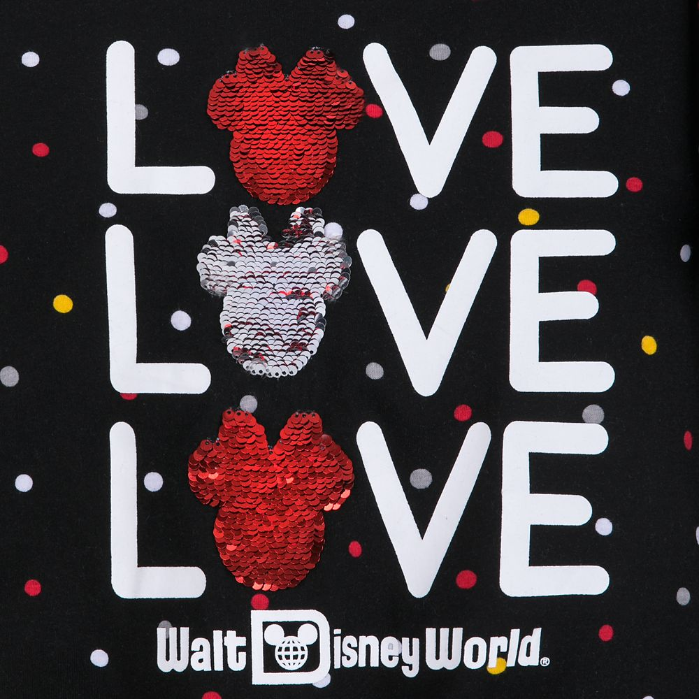 Minnie Mouse Reversible Sequin T-Shirt for Girls – Walt Disney World
