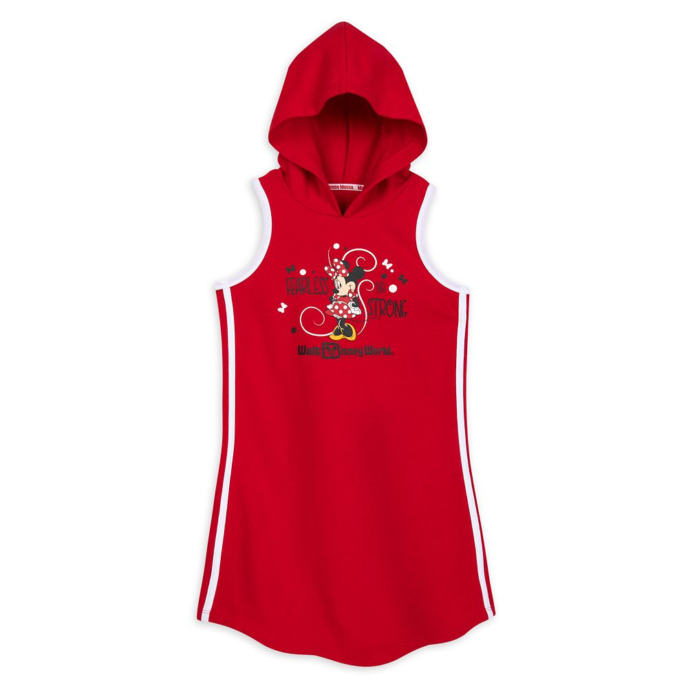 디즈니 미니마우스 후드 원피스 Minnie Mouse Sleeveless Hooded Dress for Girls