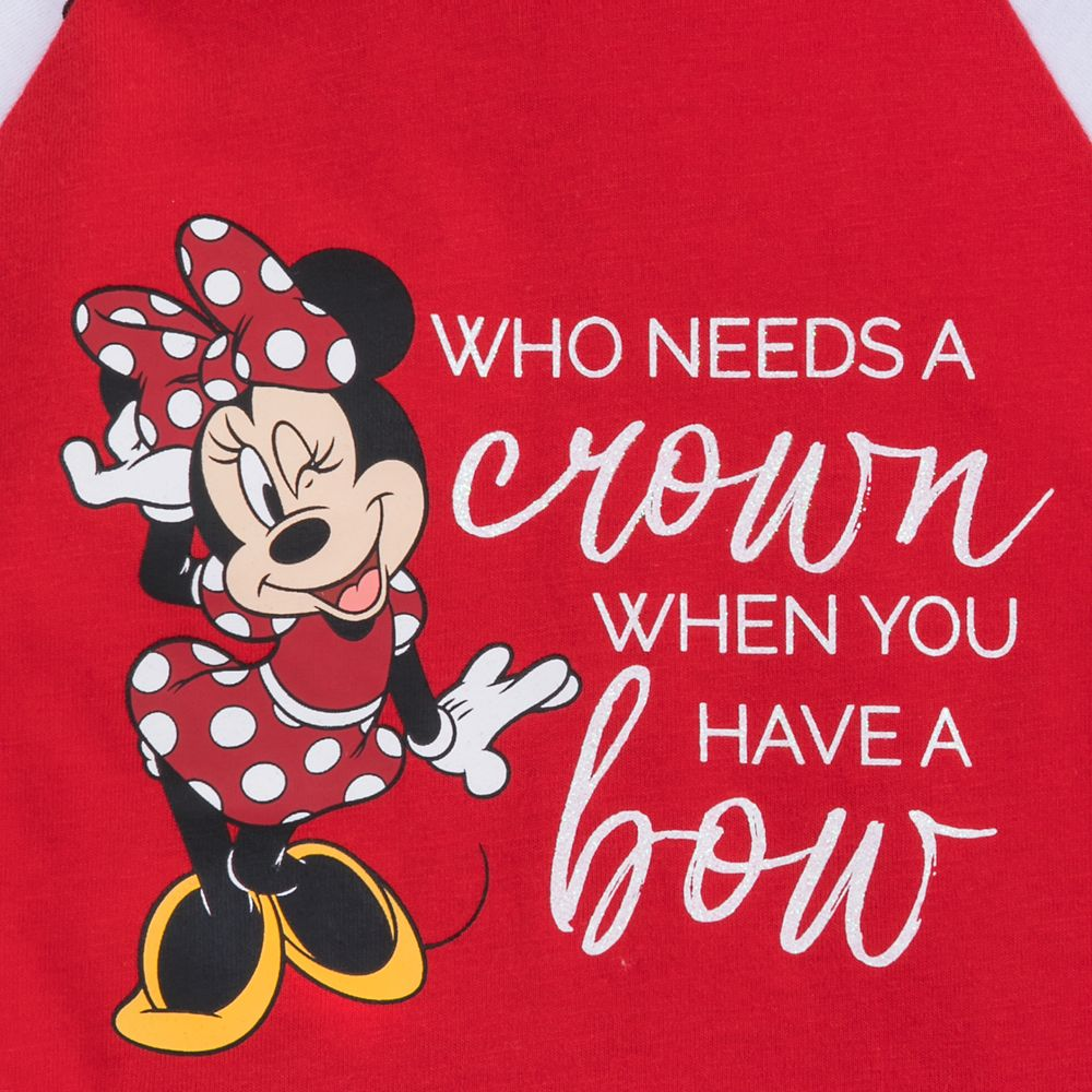 Minnie Mouse Long Sleeve Hooded T-Shirt for Toddlers