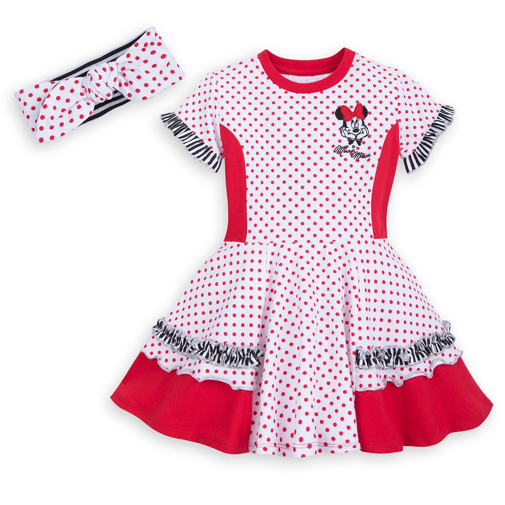 디즈니 미니 마우스 드레스 Minnie Mouse Dress Set for Girls - Walt
