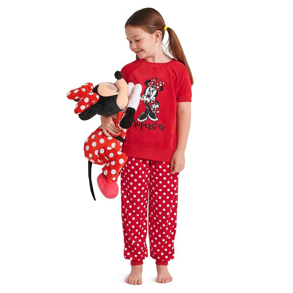 Minnie Mouse Velour Pajama Set for Girls
