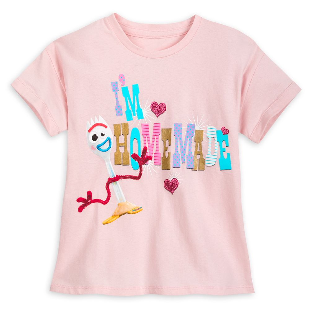Forky T-Shirt for Girls – Toy Story 4