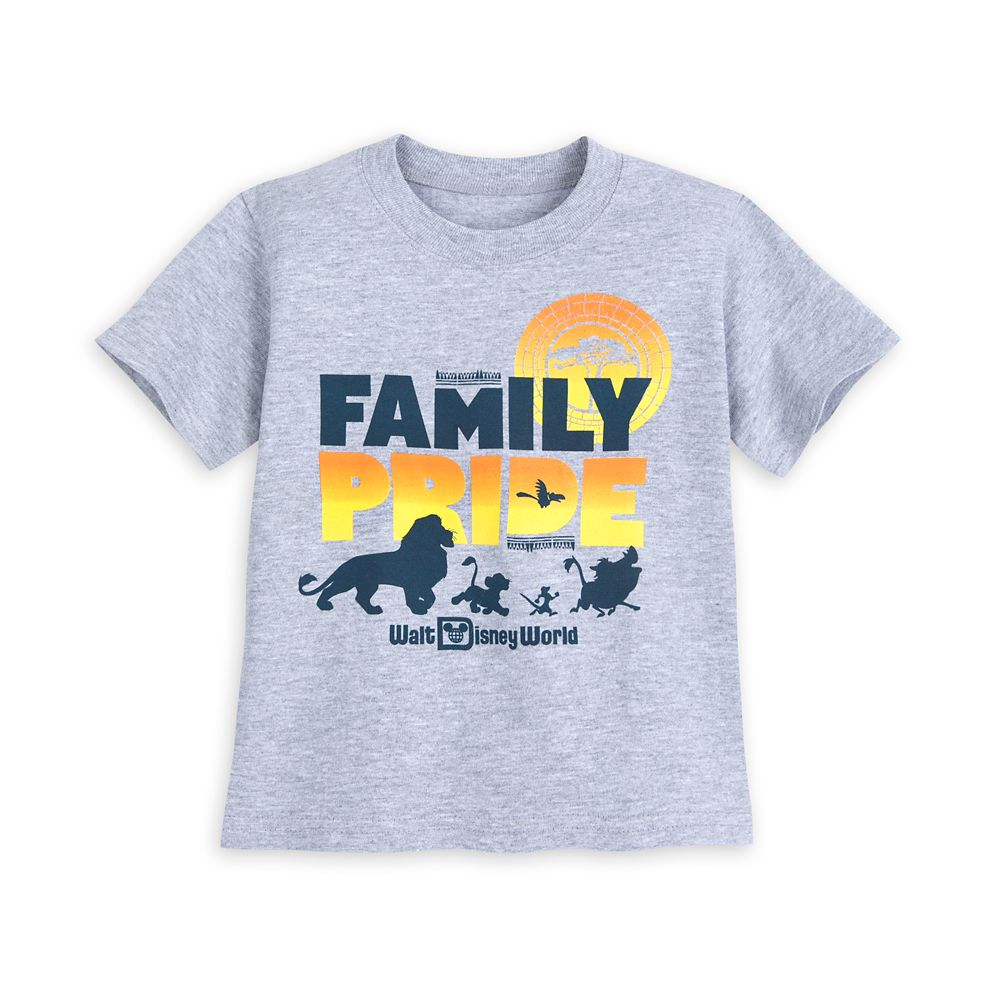 The Lion King Family Pride T-Shirt for Toddlers – Walt Disney World