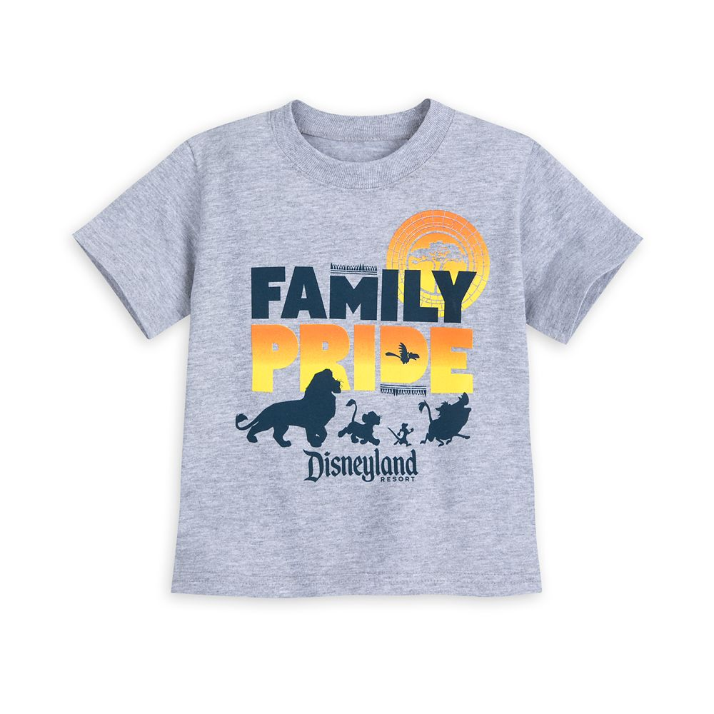The Lion King Family Pride T-Shirt for Toddlers – Disneyland