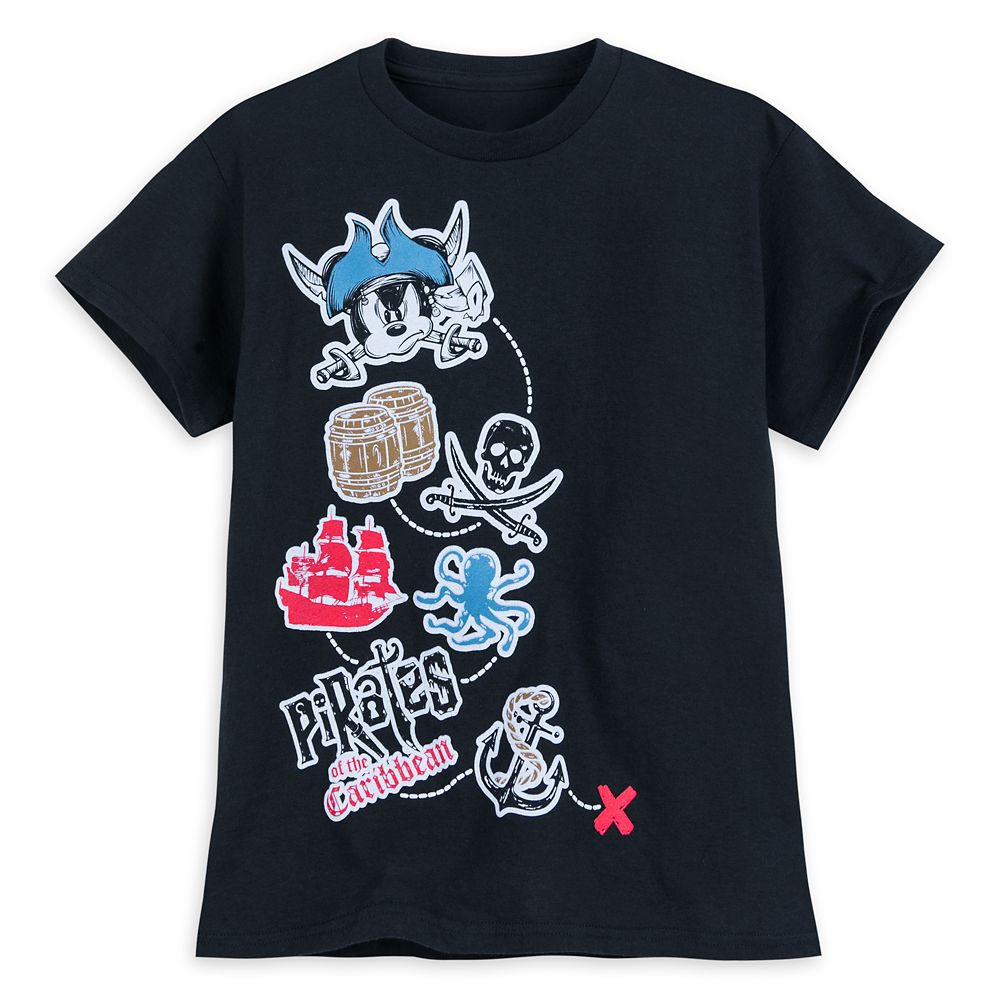 Mickey Mouse T-Shirt for Boys – Pirates of the Caribbean