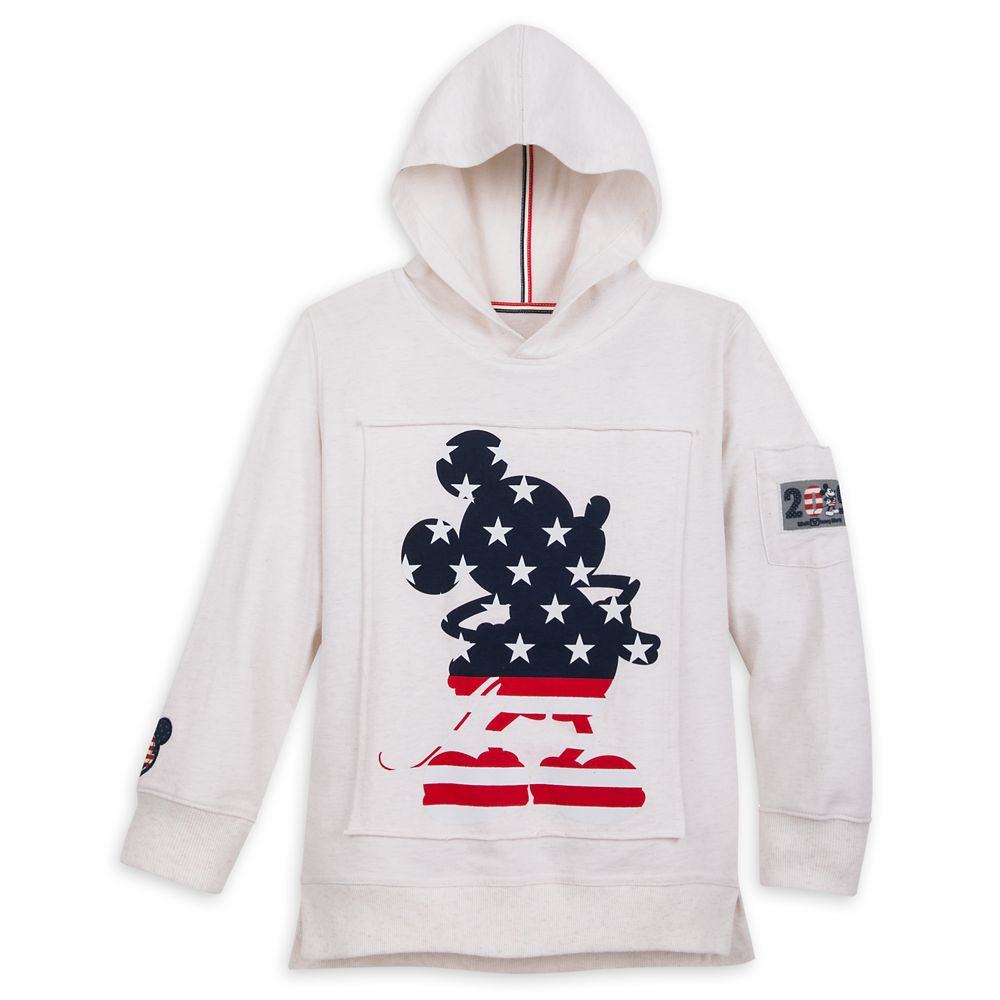 Mickey Mouse Americana Pullover Hoodie for Boys  Walt Disney World 2019