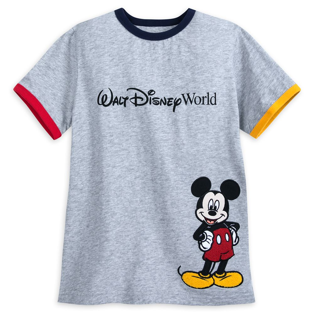 Mickey Mouse Ringer T-Shirt for Boys  Walt Disney World