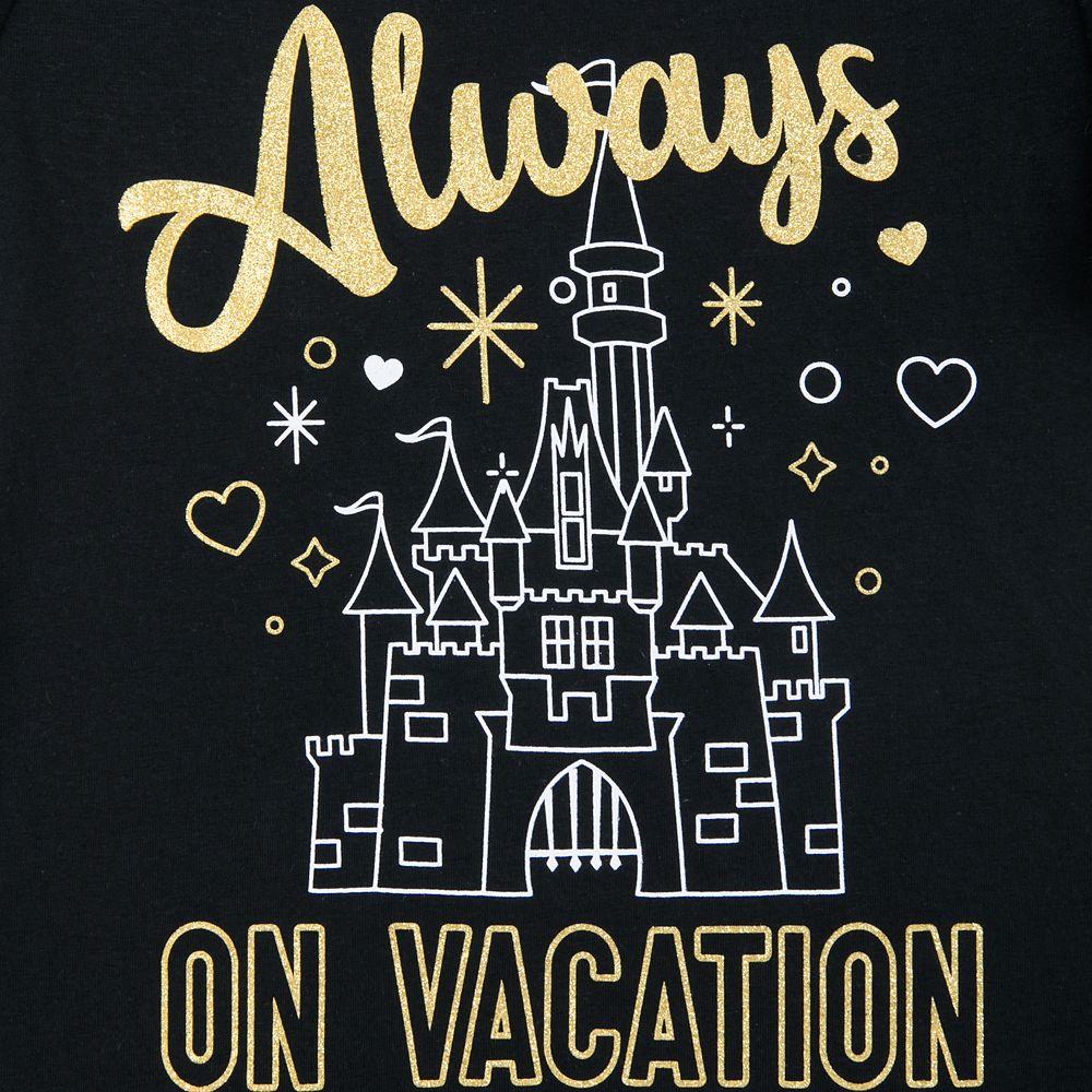 Always on Vacation T-Shirt for Girls – Walt Disney World