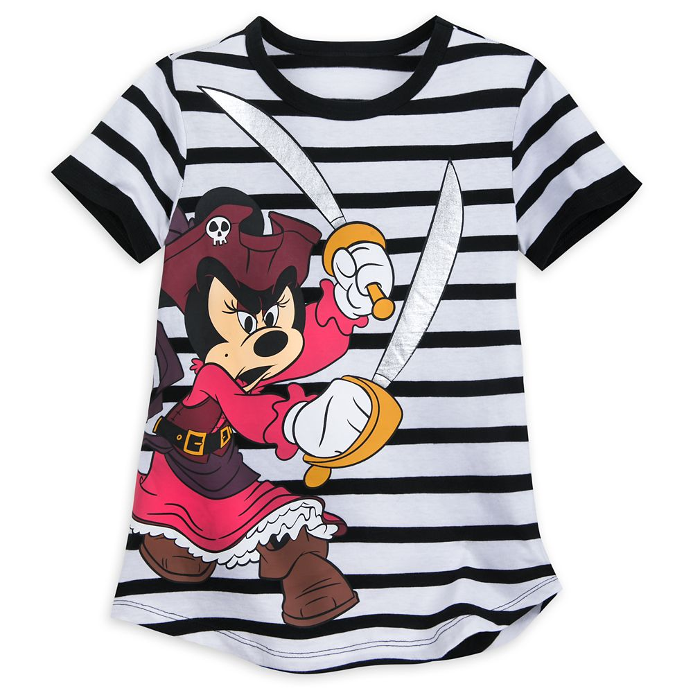 Minnie Mouse Pirates of the Caribbean T-Shirt for Girls