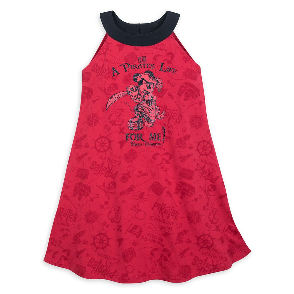 디즈니 미니 마우스 홀터넥 원피스 Minnie Mouse Pirates of the Caribbean Dress for Girls