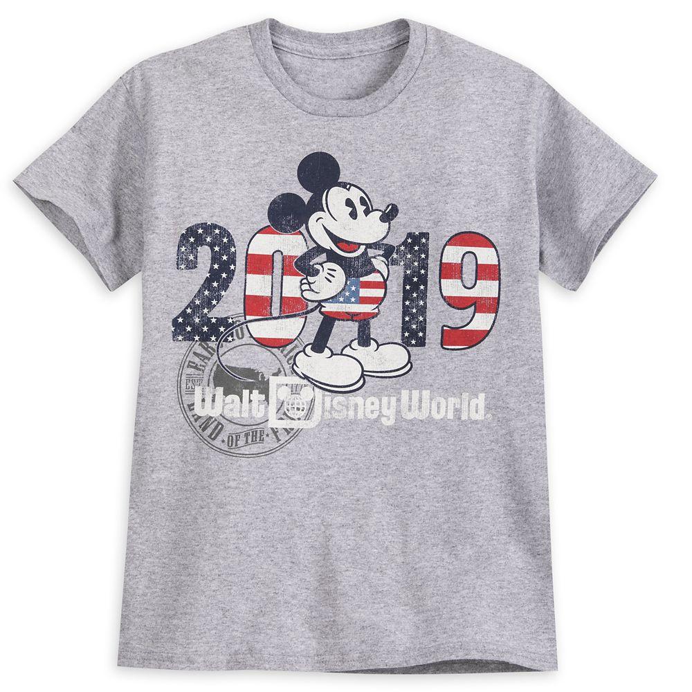 Mickey Mouse Americana T-Shirt for Kids – Walt Disney World 2019