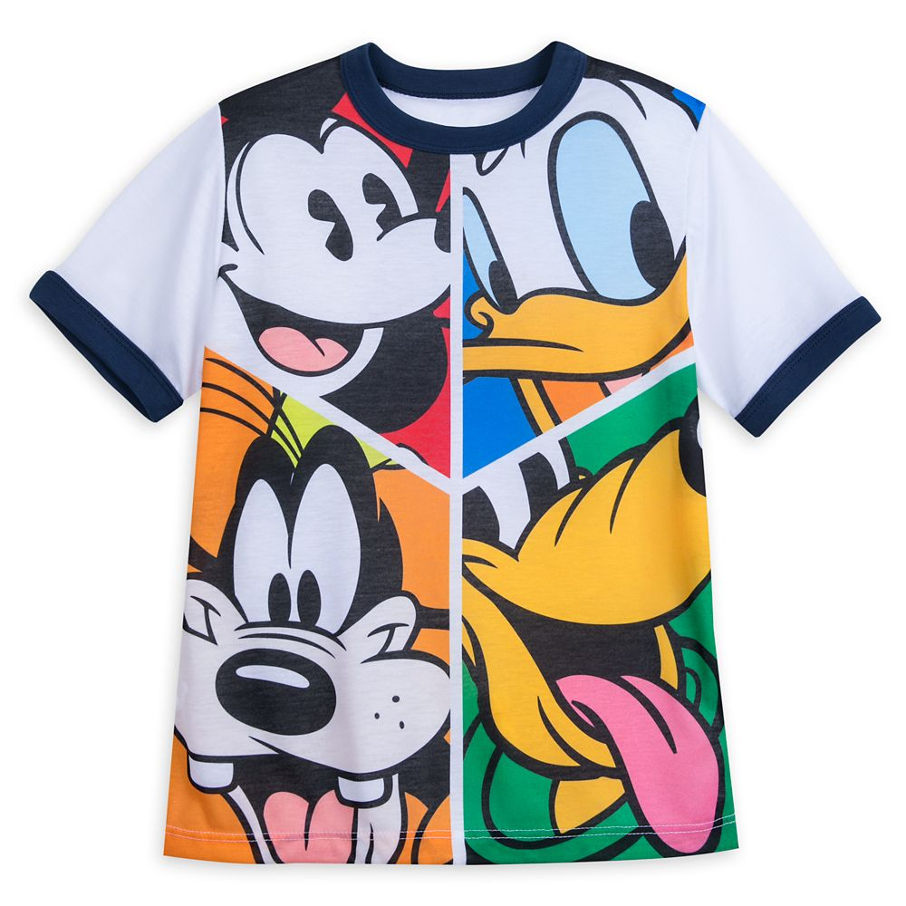 Mickey Mouse and Friends Ringer T-Shirt for Boys