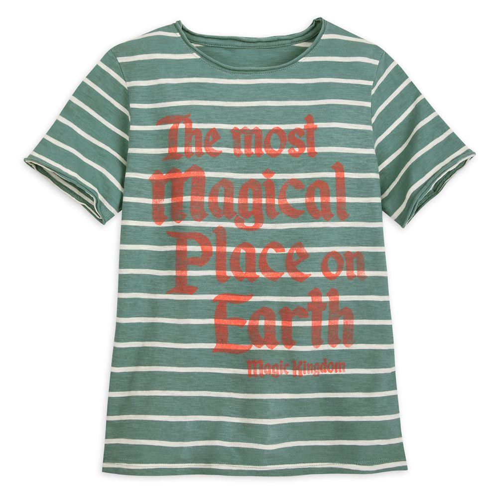 Walt Disney World Striped Jersey T-Shirt for Boys by Junk Food
