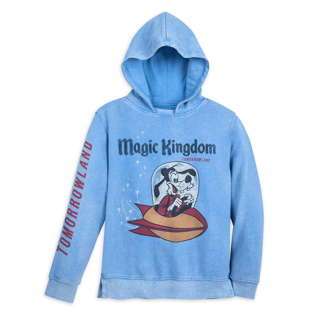 Goofy Tomorrowland Hoodie for Boys by Junk Food – Walt Disney World