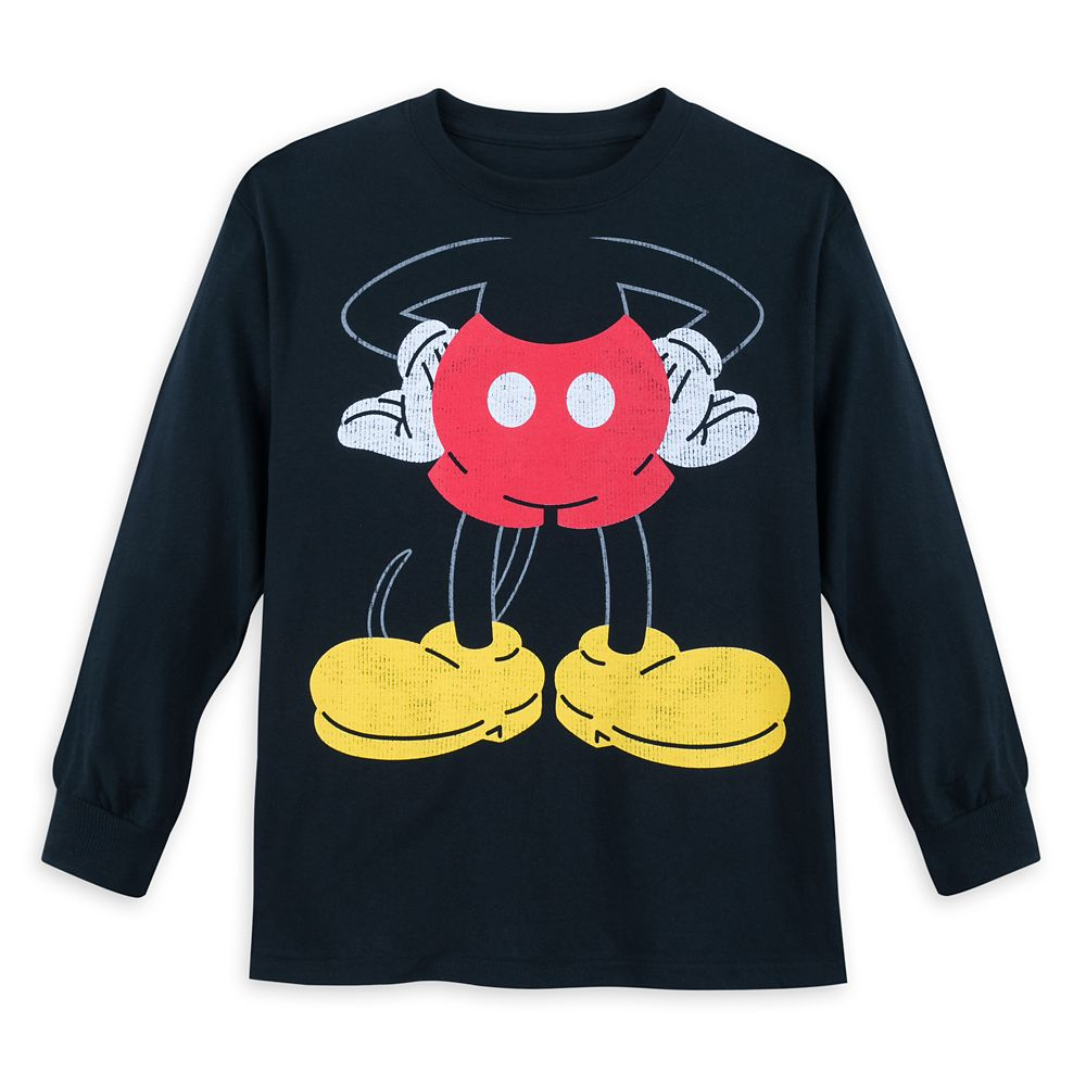 I Am Mickey Mouse Long Sleeve T-Shirt for Kids Official shopDisney