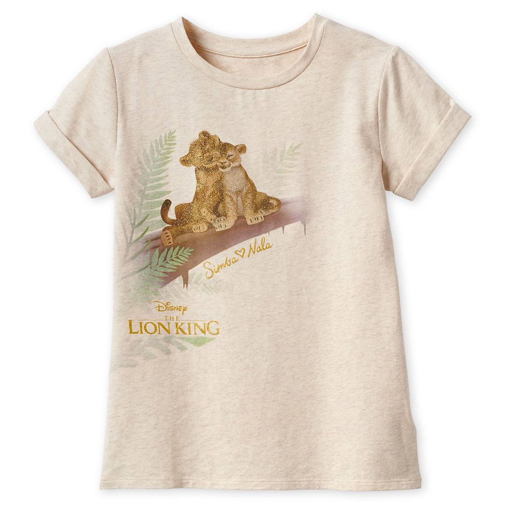 The Lion King Fashion T-Shirt for Girls  2019 Film Official shopDisney
