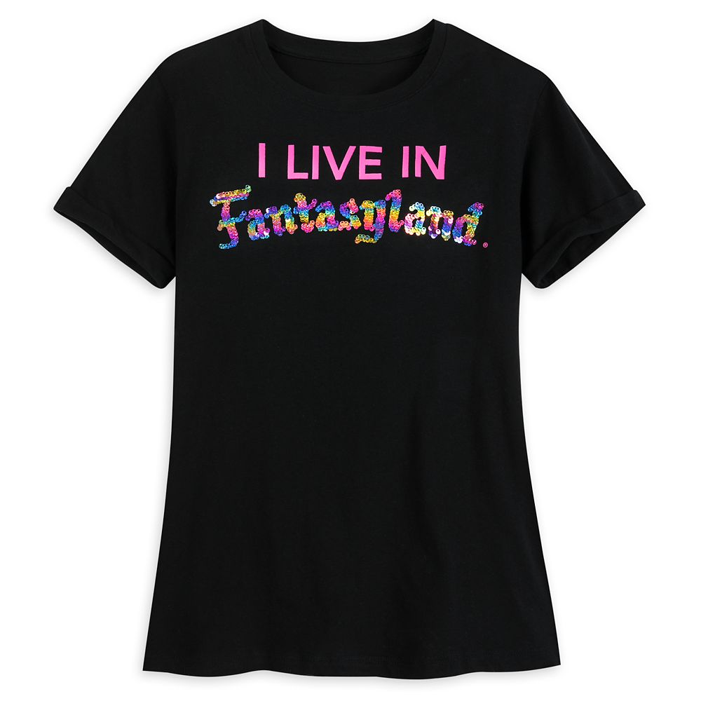 Fantasyland Reversible Sequin T-Shirt for Girls
