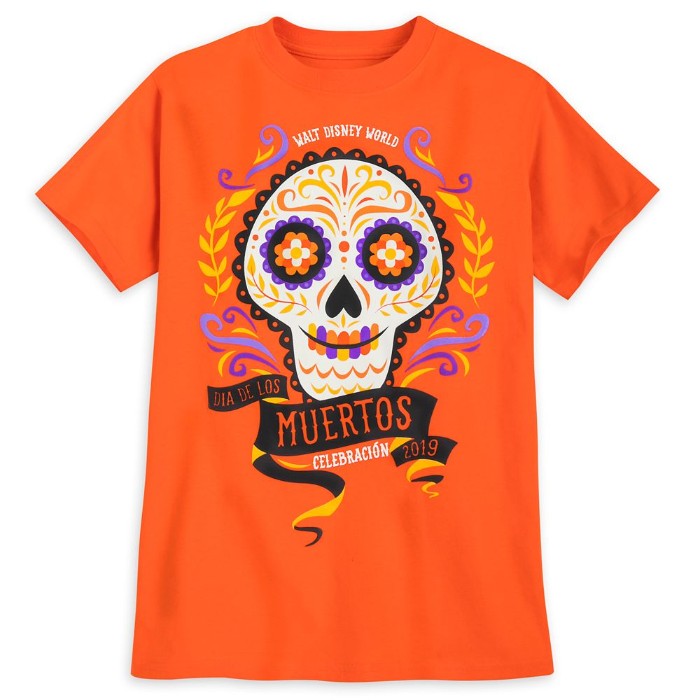 Dia de los Muertos Celebración T-Shirt for Boys  Walt Disney World