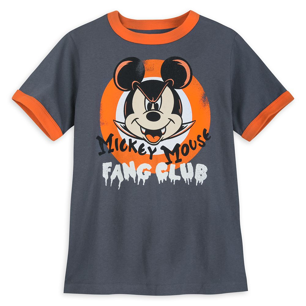 Mickey Mouse Club Halloween Ringer Tee for Kids