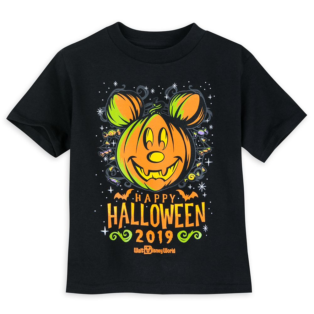 Mickey Mouse Halloween 2019 T-Shirt for Toddlers  Walt Disney World