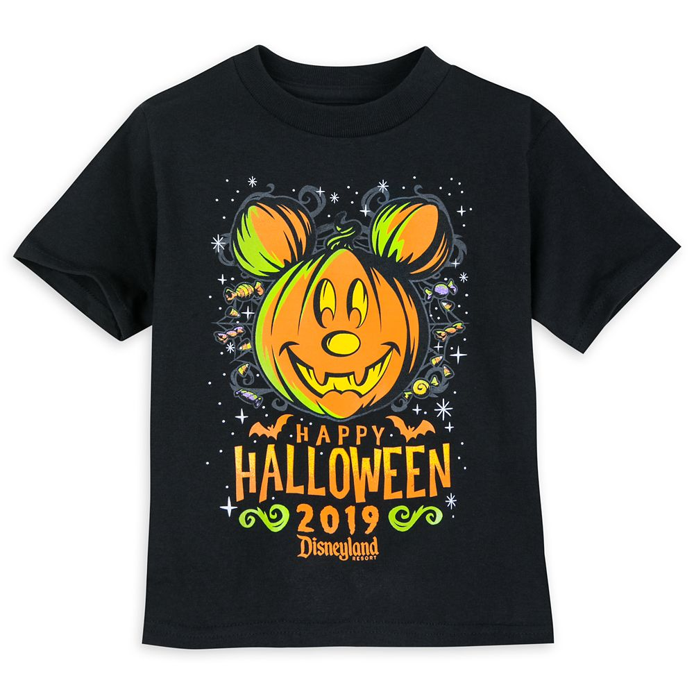 Mickey Mouse Halloween 2019 T-Shirt for Toddlers  Disneyland