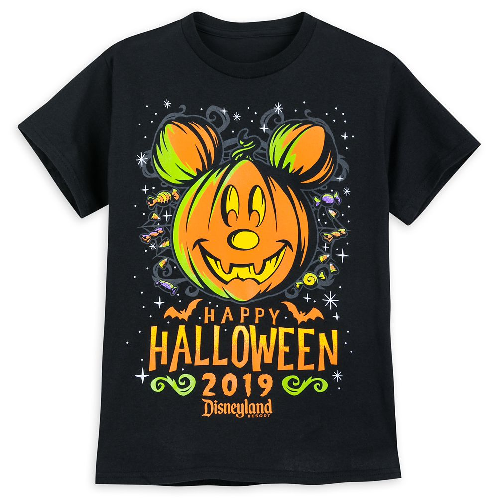 Mickey Mouse Halloween 2019 T-Shirt for Kids – Disneyland