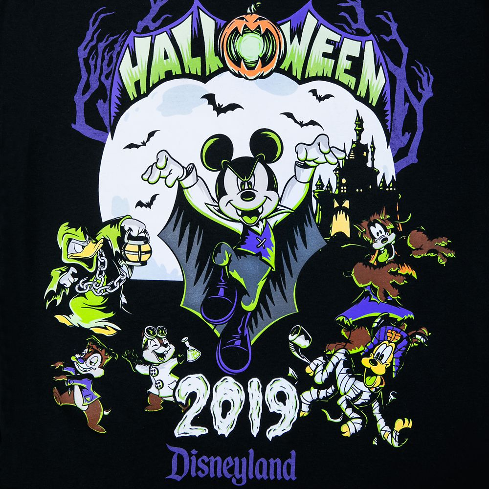 Mickey Mouse and Friends Halloween 2019 T-Shirt for Kids – Disneyland