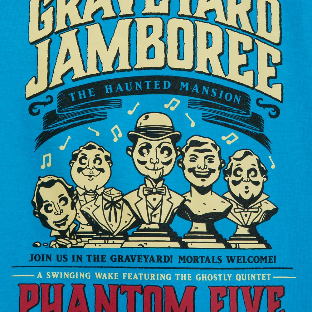 Phantom Five T-Shirt for Boys – The Haunted Mansion