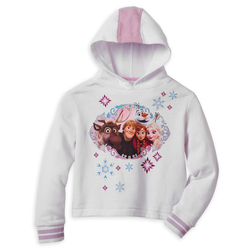 Frozen Hooded Pullover Sweatshirt for Girls