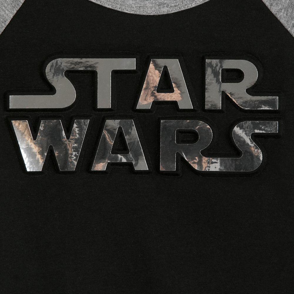 Star Wars Logo Raglan T-Shirt for Girls