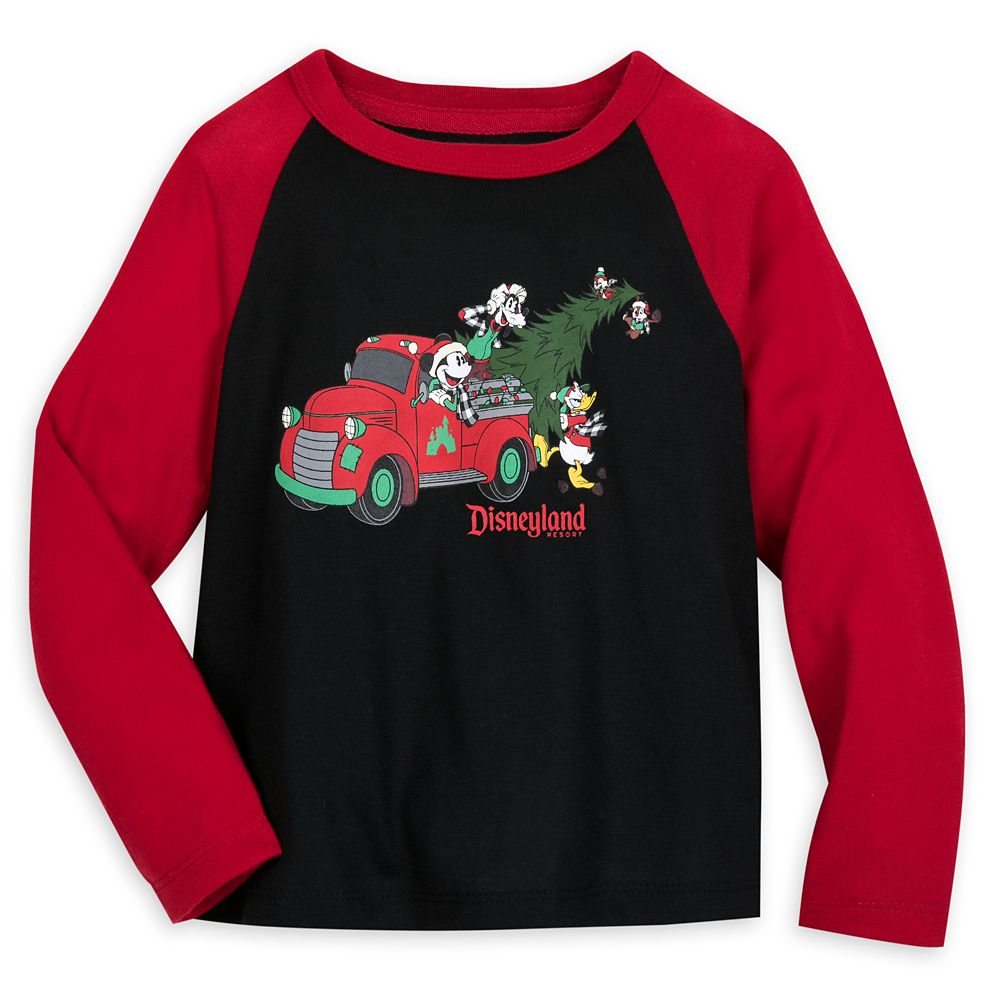 Mickey Mouse and Friends Holiday Pajama Top for Boys – Disneyland