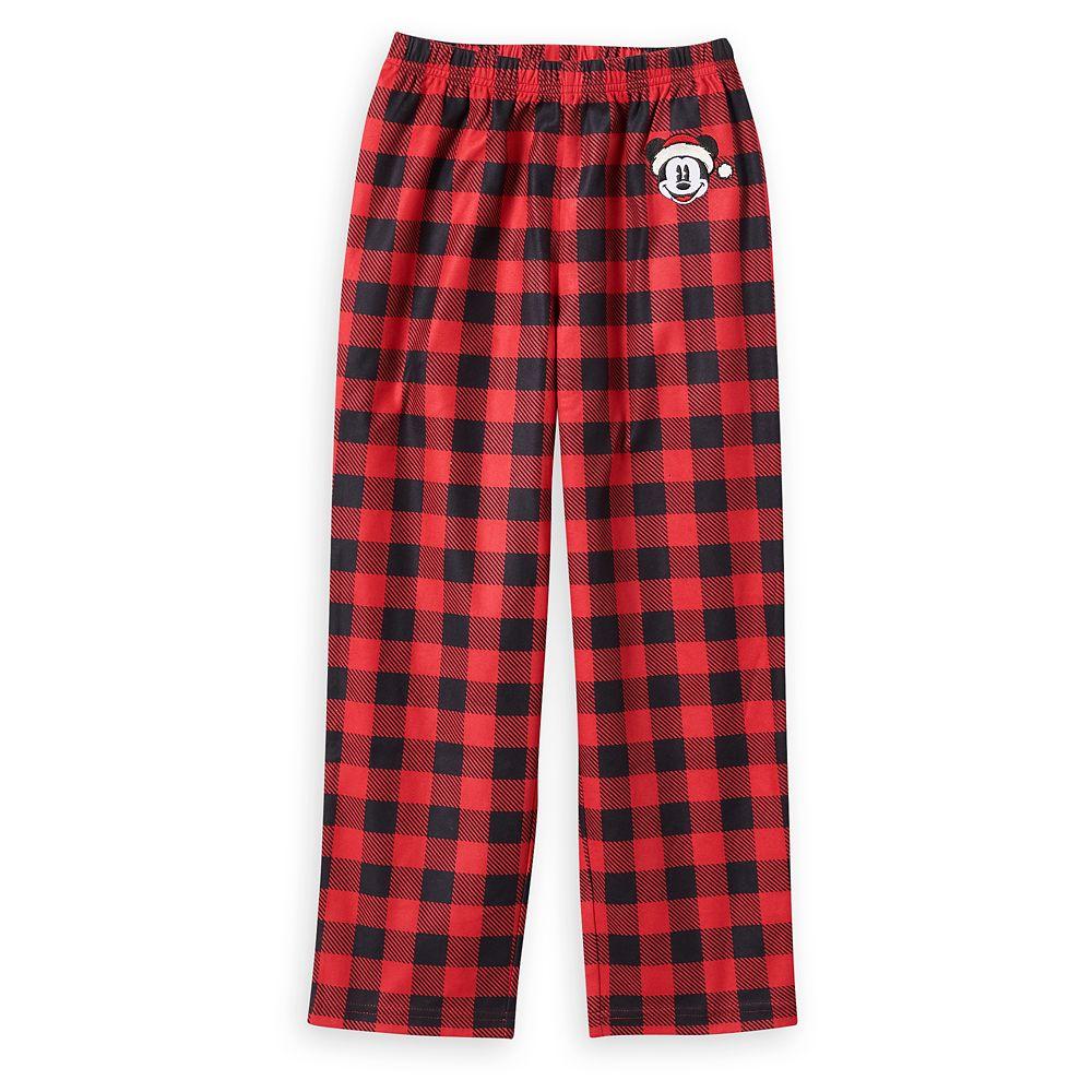 Mickey Mouse Plaid Pajama Pants for Boys