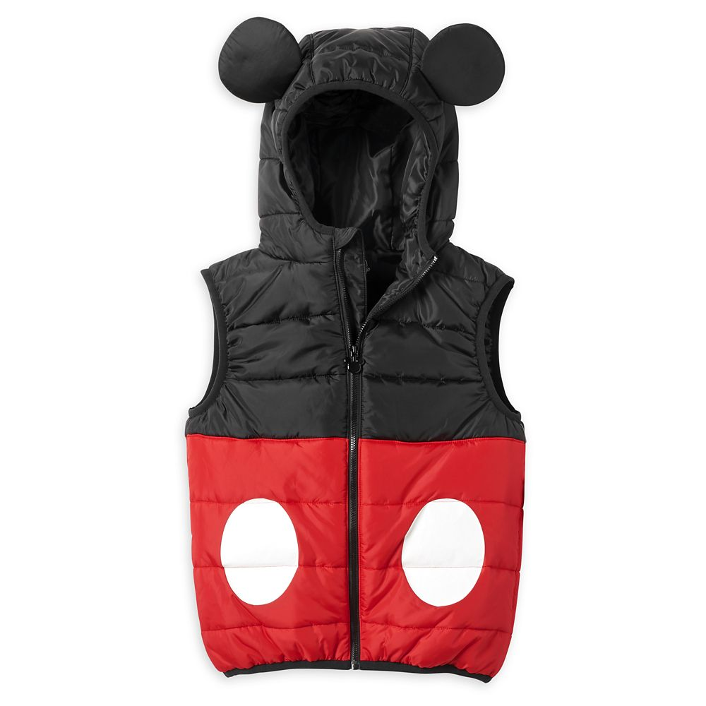 Mickey Mouse Puffy Vest for Boys
