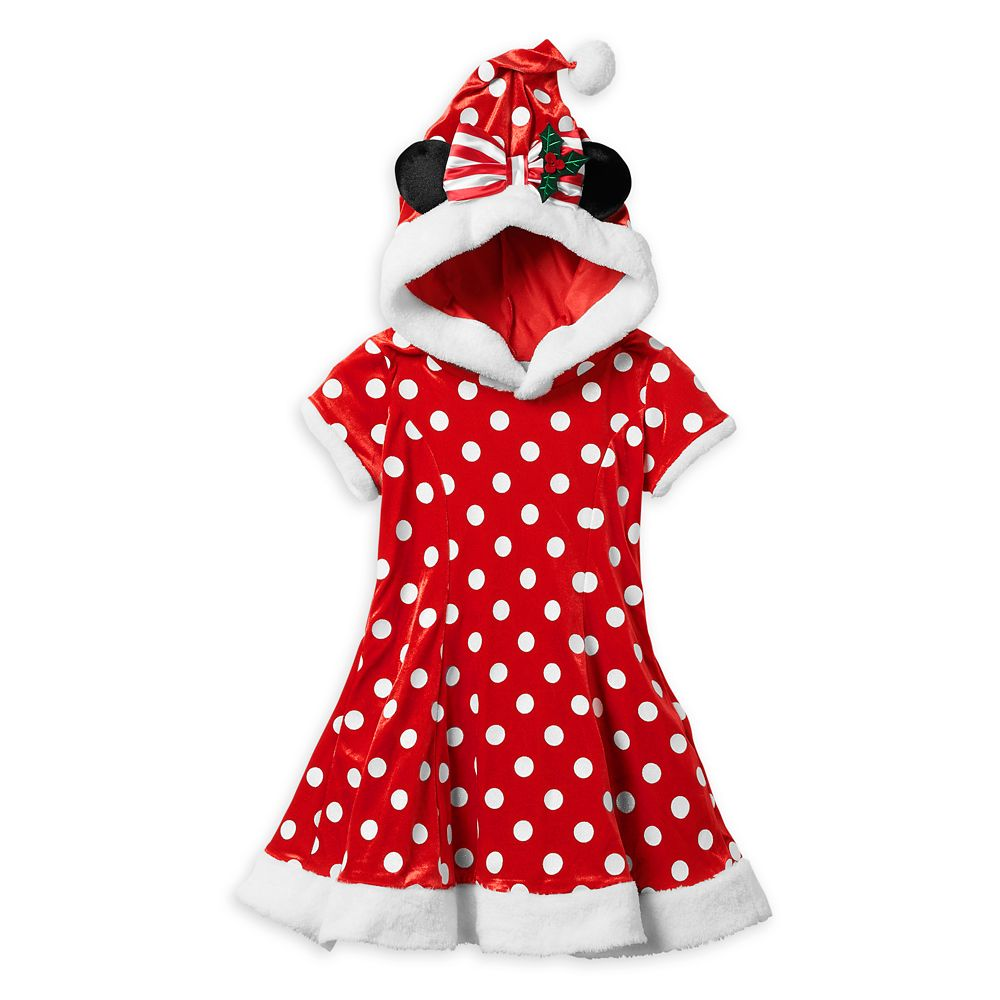 Minnie Mouse Holiday Costume for Kids