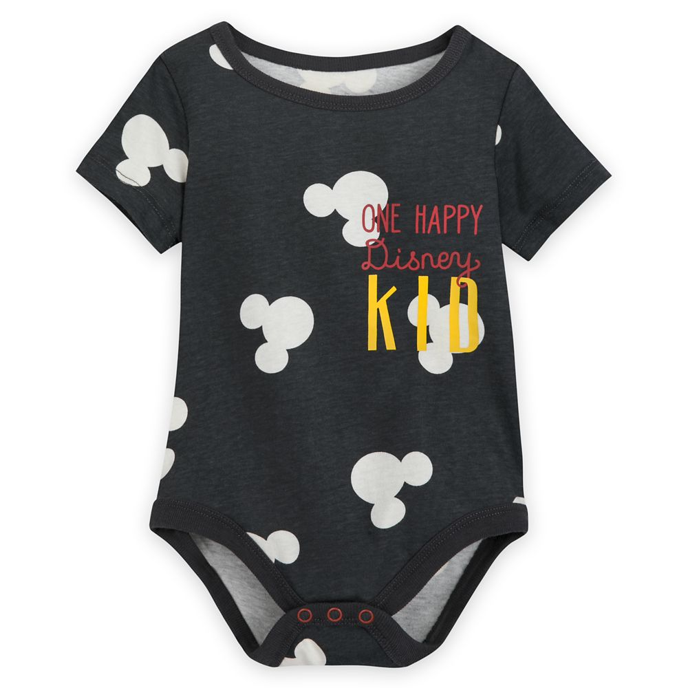 Mickey Mouse ''One Happy Disney Kid'' Bodysuit for Baby