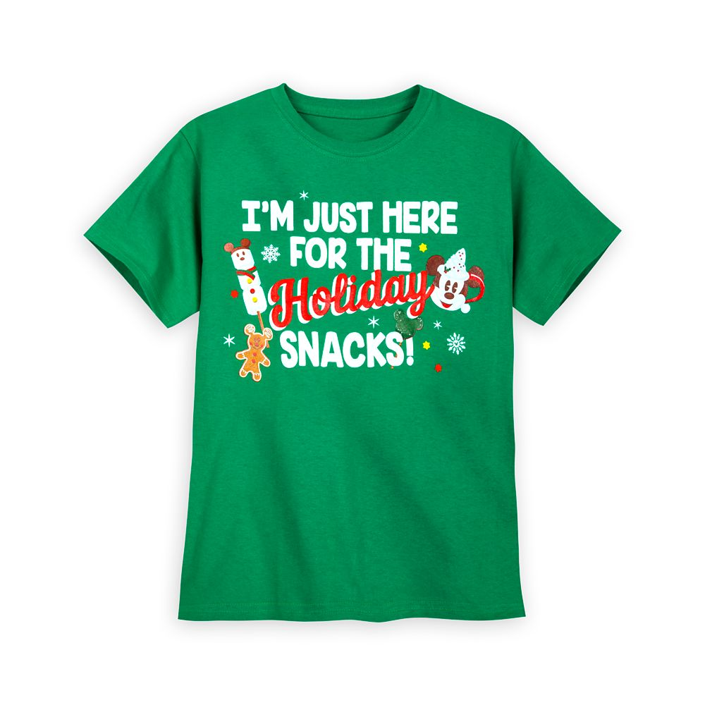 Mickey Mouse ''Holiday Snacks'' T-Shirt for Kids