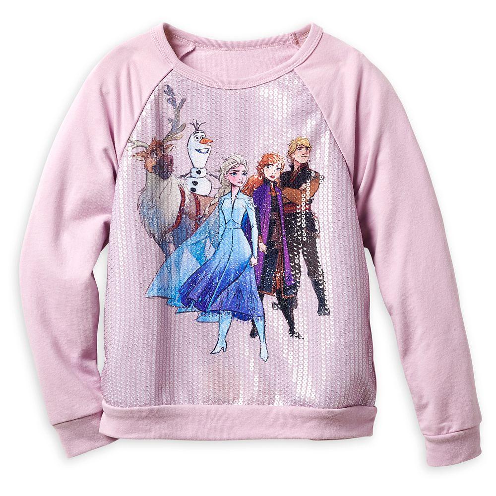 Frozen 2 Sequin Pullover Top for Girls