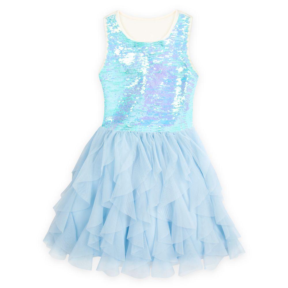 Elsa Reversible Sequin Dress for Girls – Frozen 2